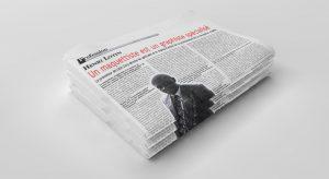 Pile de journaux Quotidien Mutations 16-12-2014