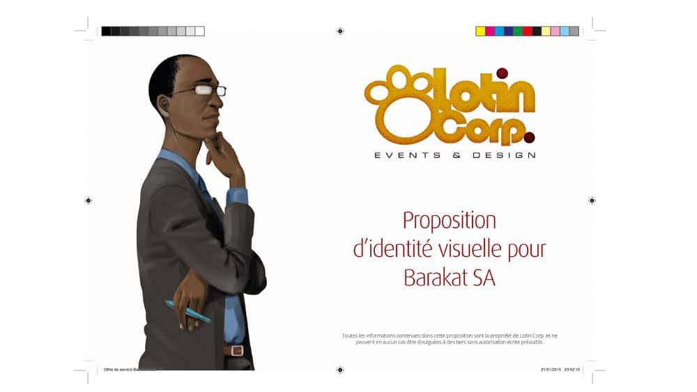 Proposition d'identité visuelle pour Barakat SA