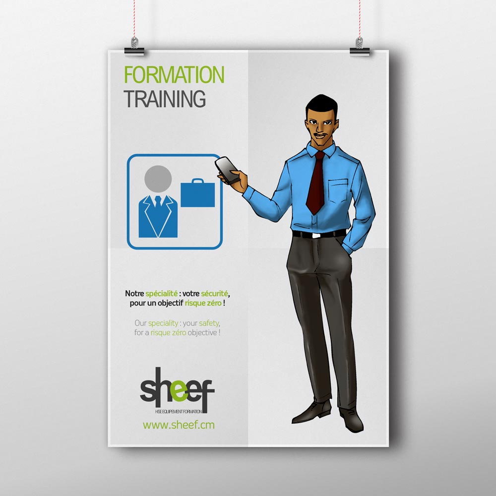 Poster Formation pour Sheef