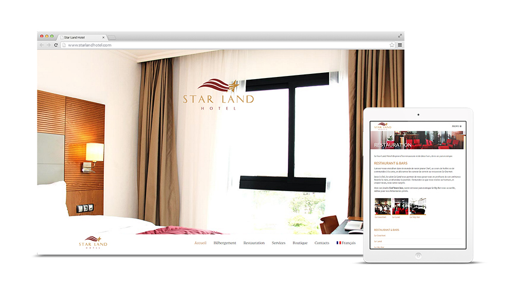 Site web Star Land Hotel