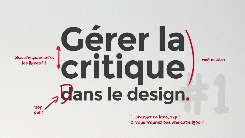 gerer-critique