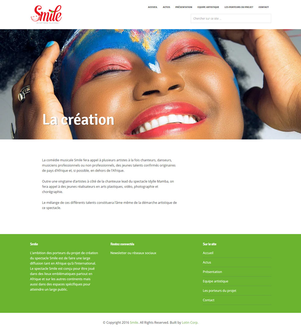 smile-main-page