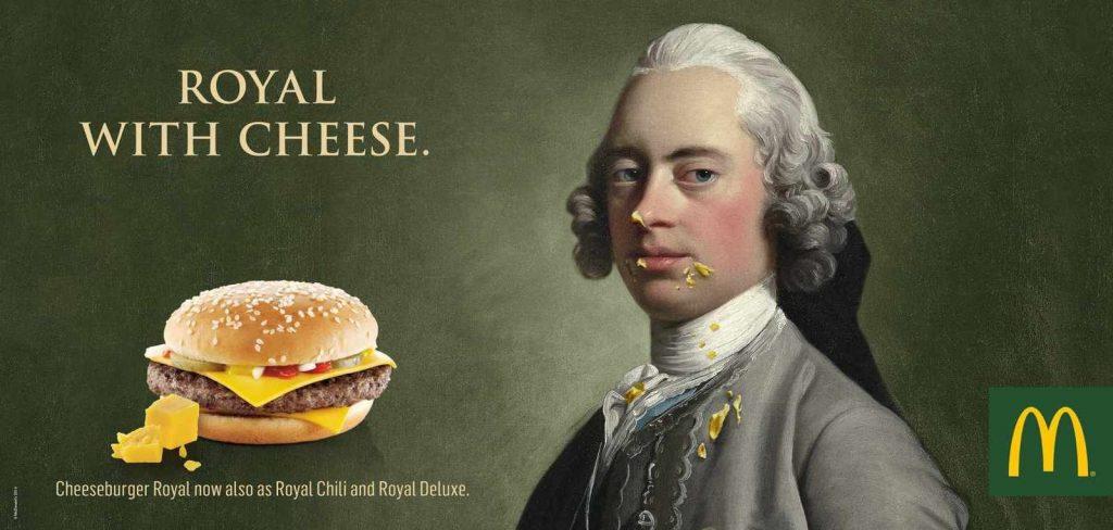 Publicité McDonald