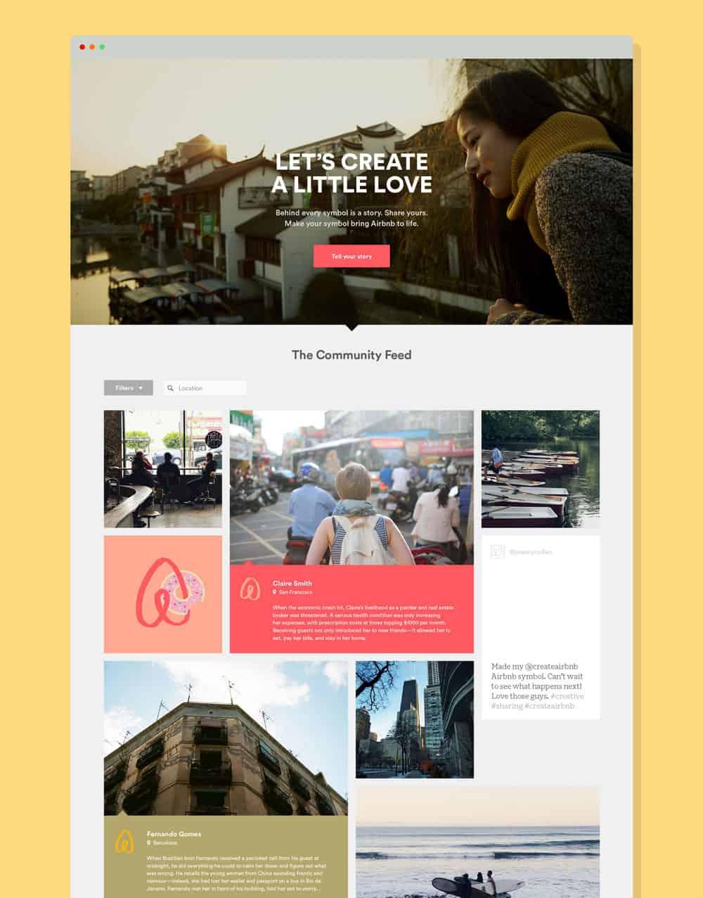 La nouvelle identité visuelle de Airbnb par Design Studio