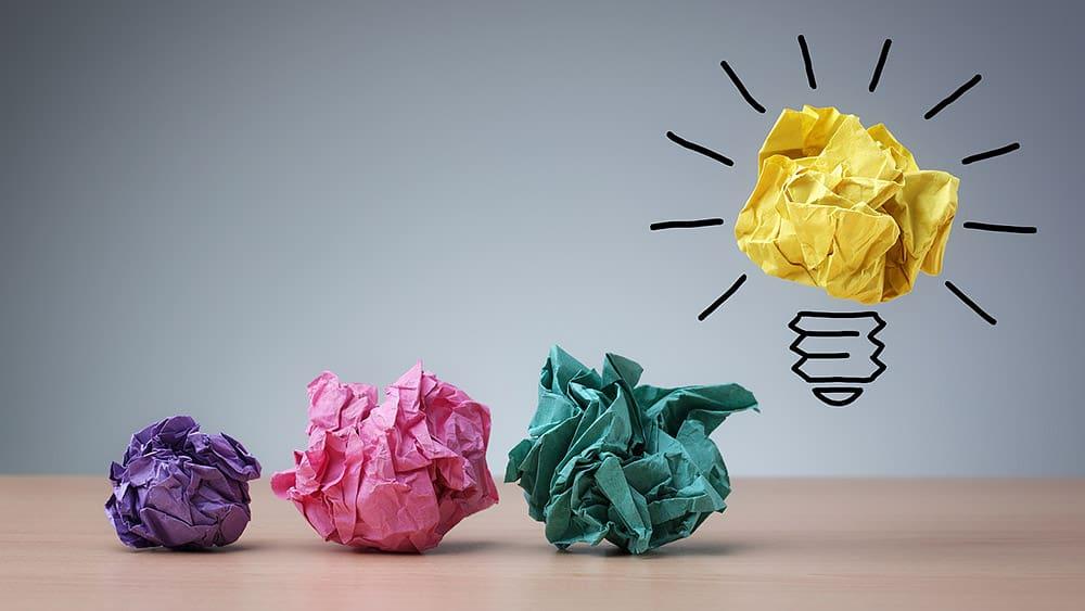 Rechercher l'inspiration est un processus