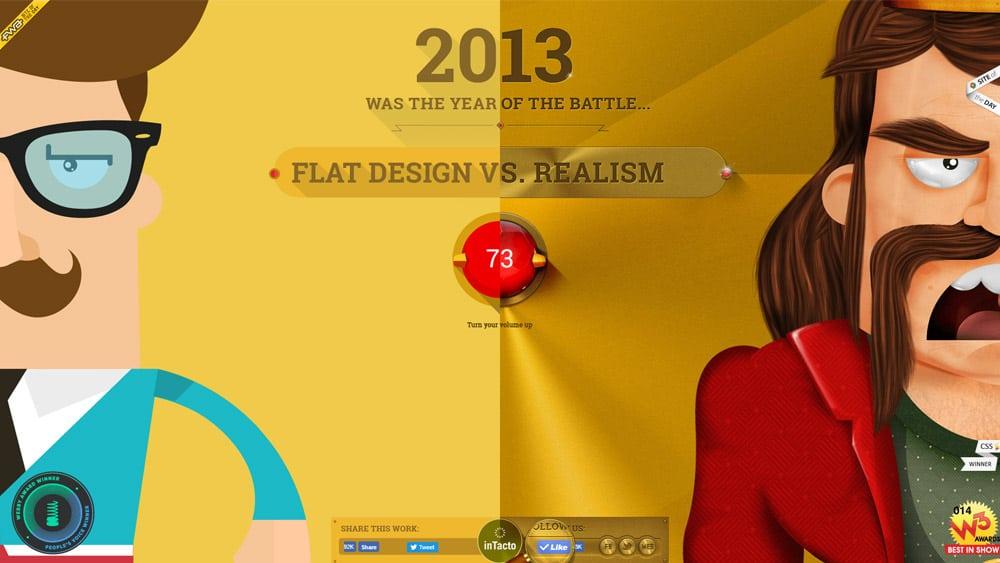www.flatvsrealism.com