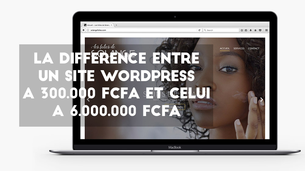 La différence entre un site web WordPress à 300K et un site web WordPress à 6.000K