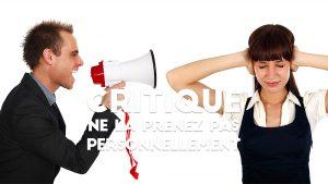 Les retours clients négatifs : ce n'est pas personnel