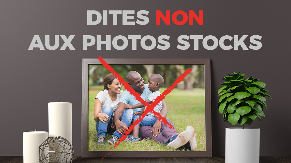 Déstockez les photos de vos campagnes et utilisez des photos authentiques