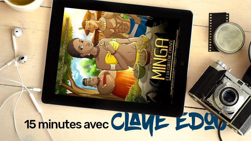15 Minutes avec Claye Edou