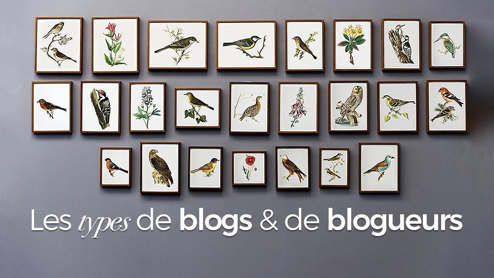 Du blog perso au blog pro: les différents types de blogs et de blogueurs