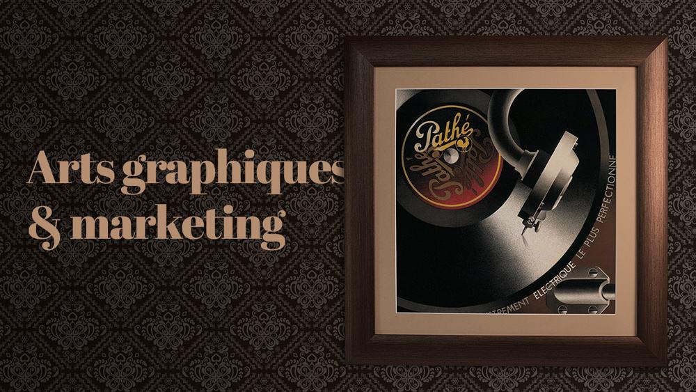 Arts graphiques et marketing, quel rapport ?