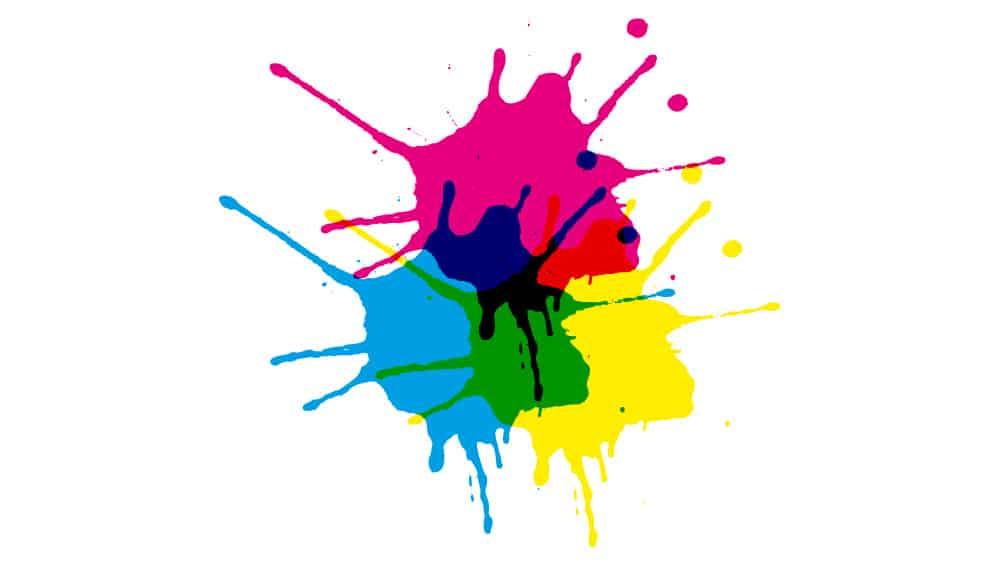 synthèse soustractive des couleurs, CMJN