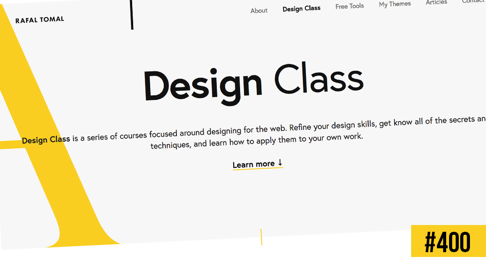 Formation gratuite : Intro to Web Design par Rafal Tomal