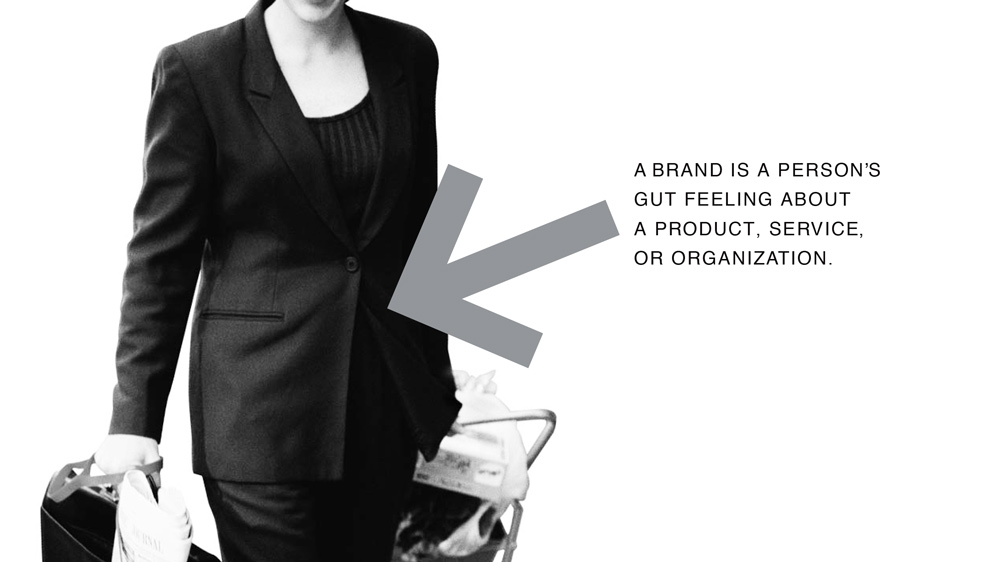 The Brand Gap - A brand is a person's gut feeling about a product, service, or organization