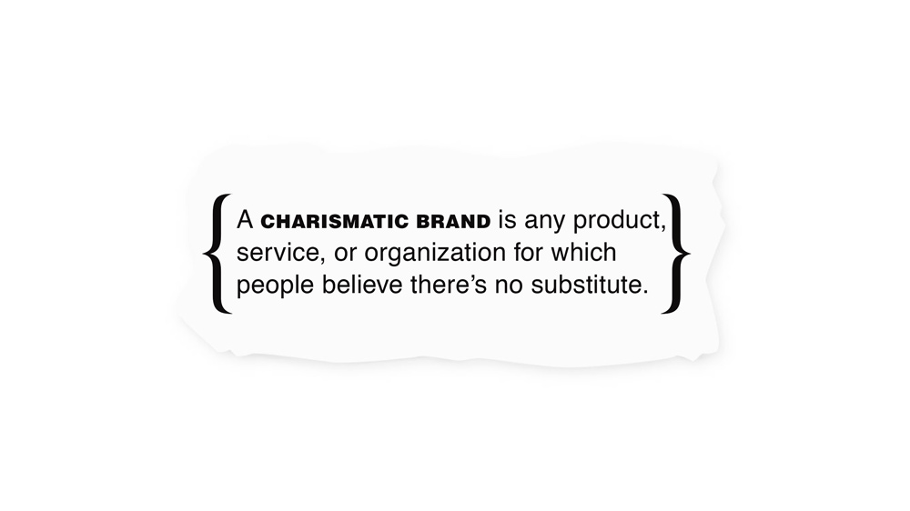 The Brand Gap - A Charismatic Brand
