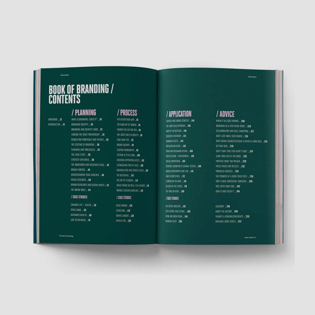 Book of Branding - Contents