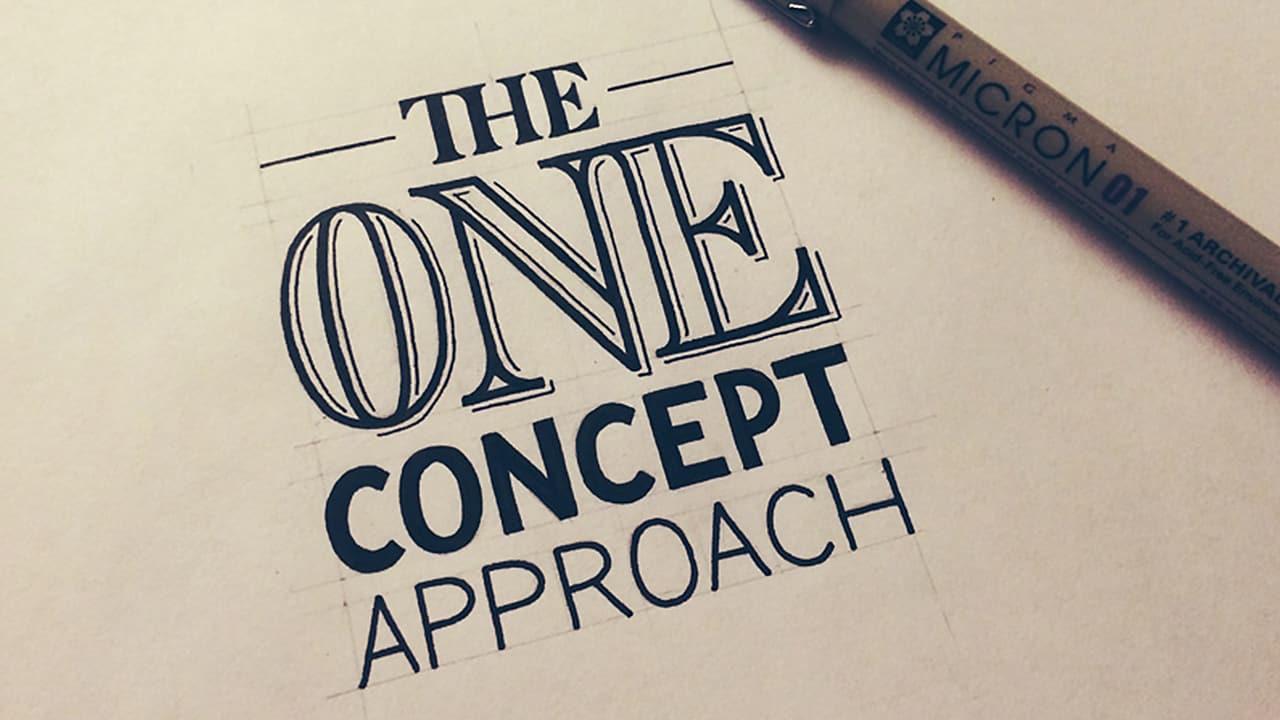 design-logo-approche-concept-unique