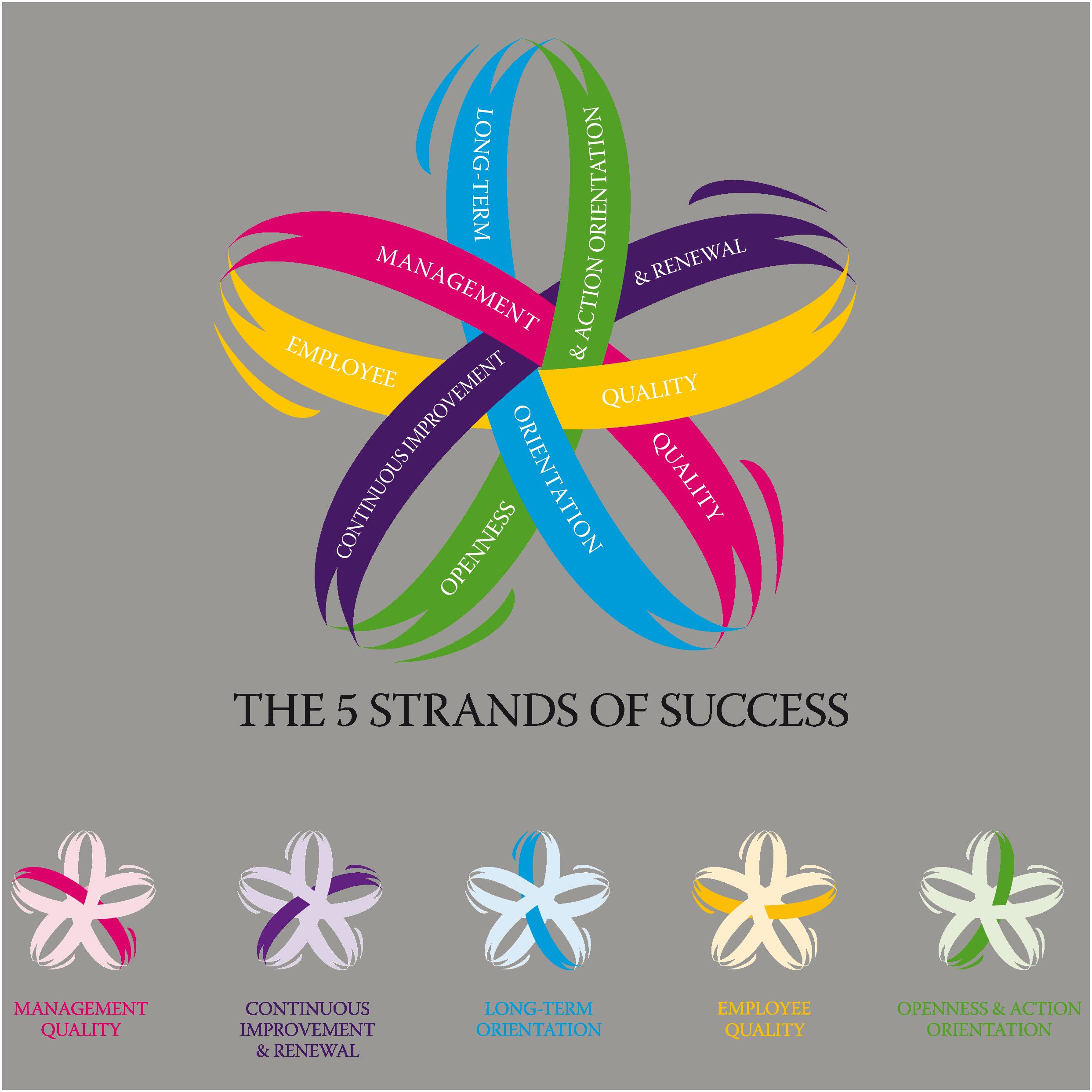 Les 5 standards de succès des organisations hautement performantes