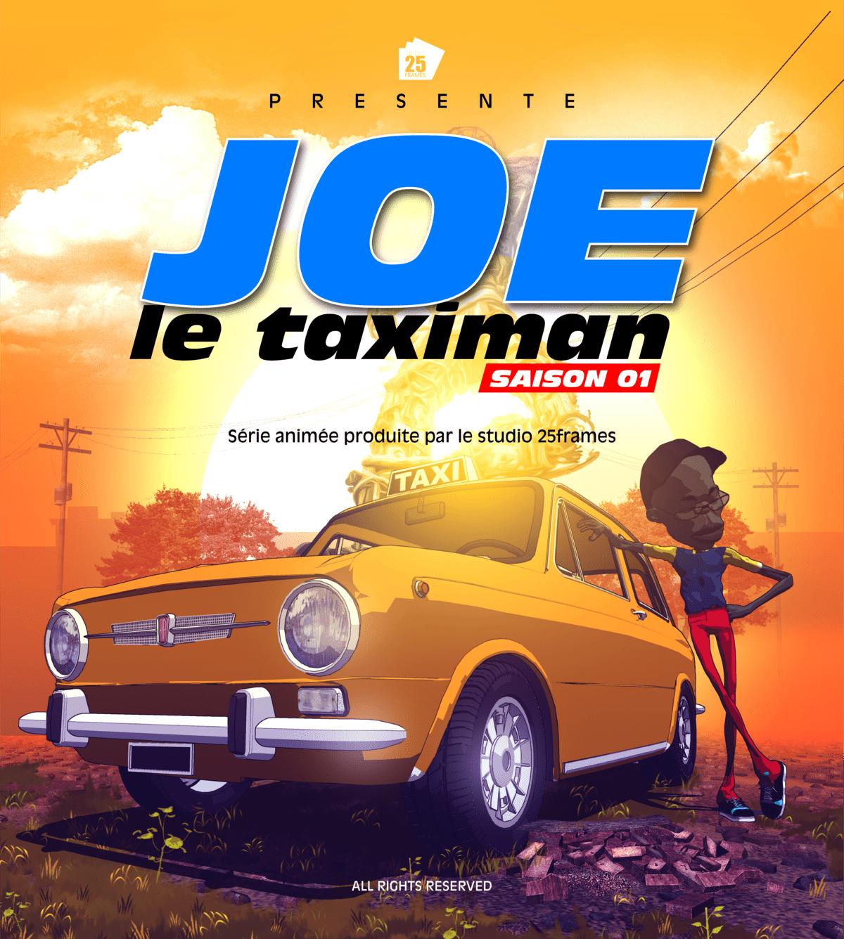 Joe le taximan, par le studio 25Frames